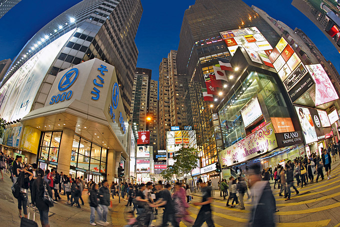 Hong Kong: shop till you drop
