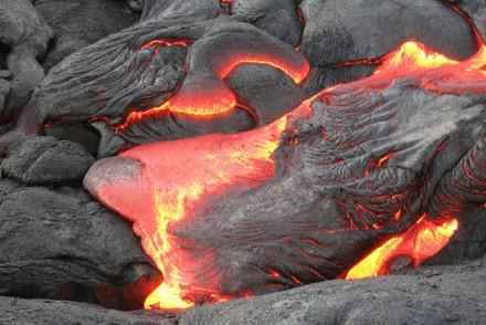 Flüssiges Lava