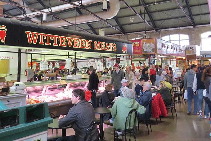 Der bekannte St. Lawrence Market