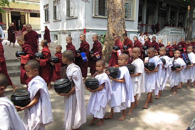 Monastère de Mandalay.