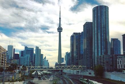 Aussicht auf CN-Tower