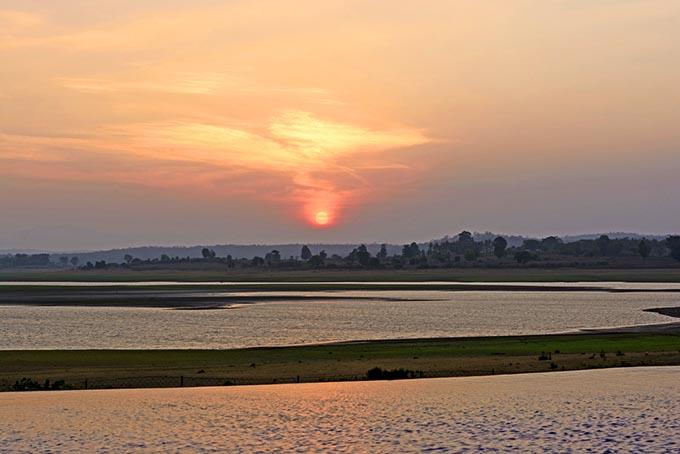 Indien Karnataka Kabini River