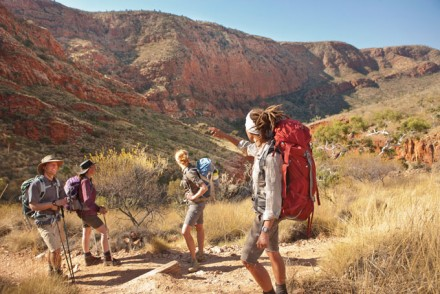 Der Larapinta Trail