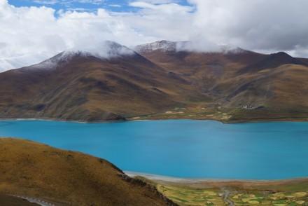 Le lac Yamdrock