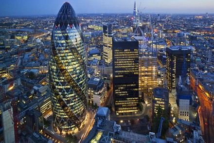 Londons fantastische Skyline