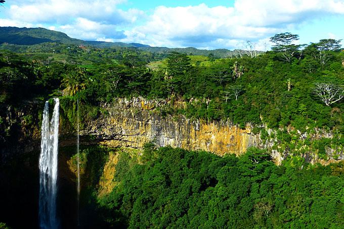 Tamarin Wasserfälle im Black River Georges National Park