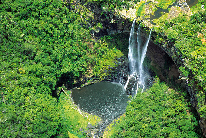 Chamarel Wasserfall auf Mauritius