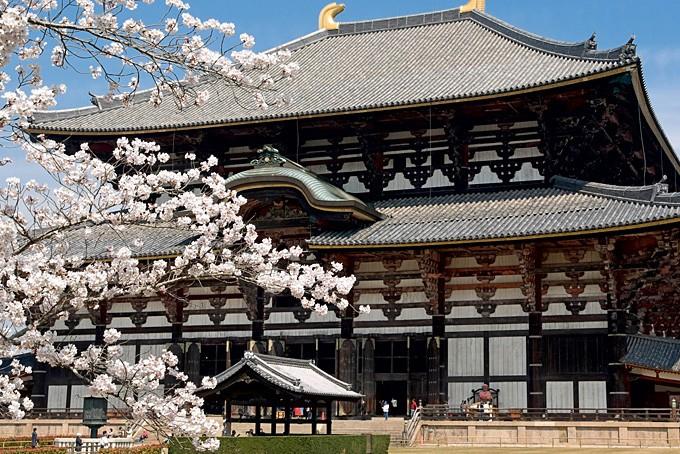 Nara City, Todaiji Tempel