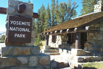 Wanderung im Yosemite Nationalpark, Kalifornien