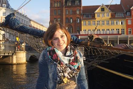 Sandrina Nufer in Kopenhagen