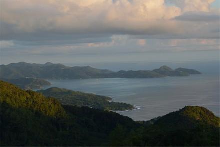 Aussicht von Venn's Town, Mahé