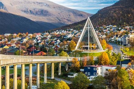 Eismeerkathedrale in TromsøEismeerkathedrale in Tromsø