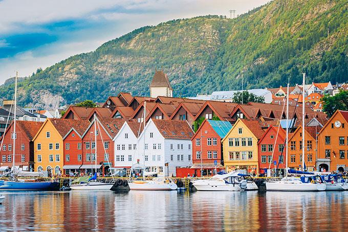 Hafenstadt Bergen