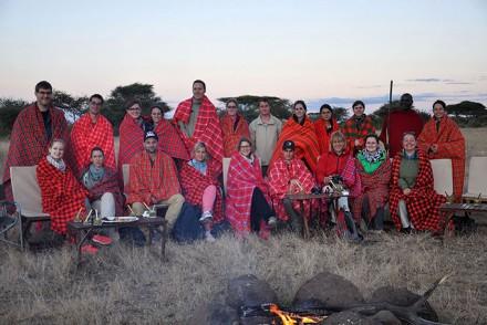 Unsere Studienreise-Gruppe in Kenia