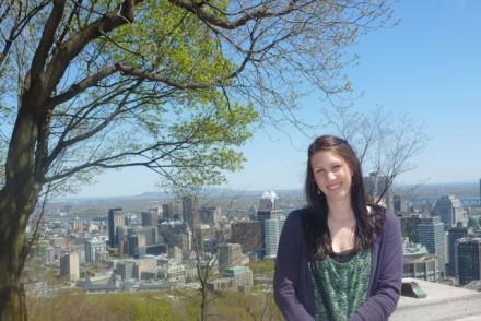 Tamara Schneider in Montréal - Kanada