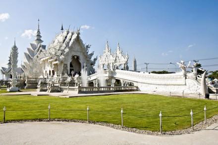 Tempel Wat Rong Kuhn, Thailand