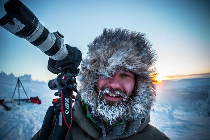 Exklusive Fotosafari nördlich dem Polarkreis in Lappland