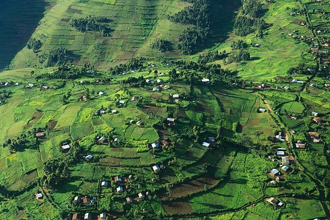 Über grüne Täler und Hügel nach Kisoro