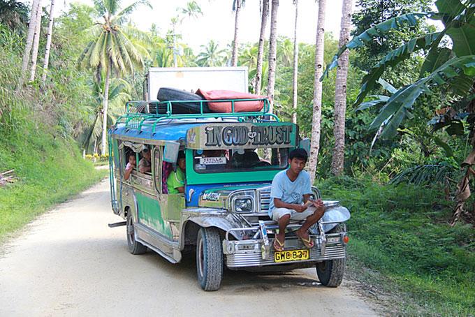 Unterwegs auf Bohol
