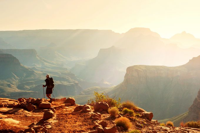 Wandern im Grand Canyon National Park