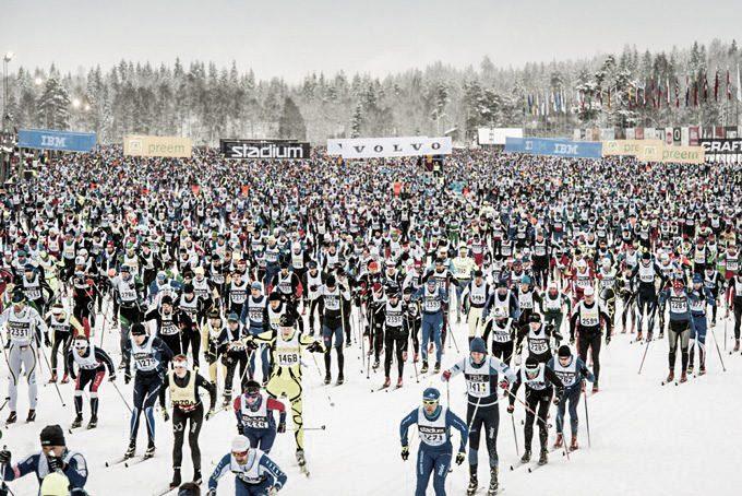 Vasaloppet in Schweden