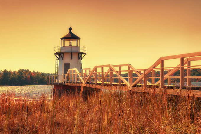 Goldene Herbsttage in den USA