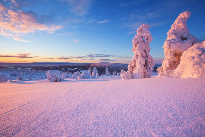 Die weite und unberührte Natur des Nordens