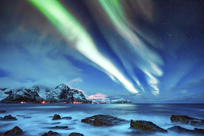 Nordlicht in Tromsø