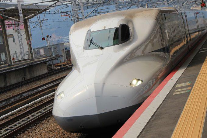 Hochgeschwindigkeitszug Shinkansen