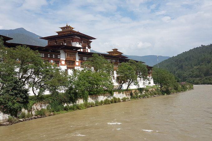 Punakha Dzong – hier finden Krönungen und königliche Hochzeiten statt