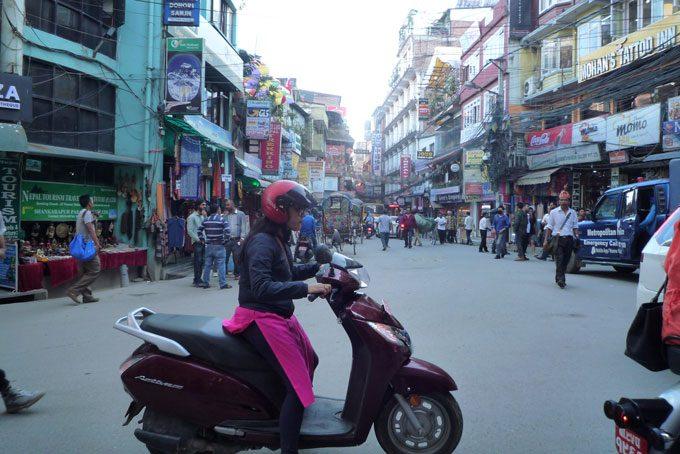 la capitale Katmandou